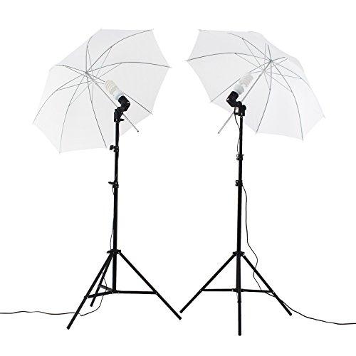 Upland Photography Umbrella Lighting Kit, 33'(83cm) Professional Lighting for Studio Photography, Portrait Lighting and Video Lighting
