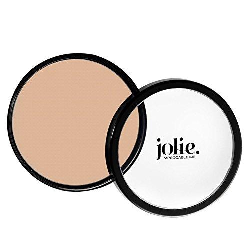 Jolie Paramedical Kamaflage Foundation Heavy Duty Concealing Creme - Cover Tattoos, Scars, Birthmarks, Bruises, Veins - Face & Body - Vegan - Gluten Free- Paraben Free 12g (Light Ivory Beige)