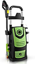 Naabet 3800 PSI 2.8GPM Electric Pressure Washer Electric Power Washer with Soap Bottle, 2-Year Warranty(Green)
