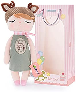 Me Too Baby Dolls Girls Gifts Stuffed Plush Elk Toys Angela Doll 13 Inches
