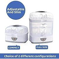 Chicco SterilNatural Sterilizzatore Biberon 2in1, Sterilizzatore Modulare a Vapore Naturale, con 2 Configurazioni, Veloce e Facile da Usare, Fino a 6 Biberon da 330 ml, Bianco #2