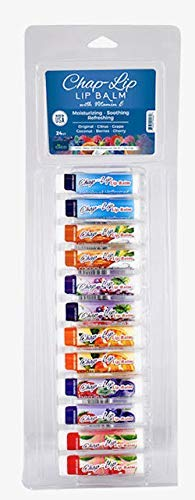 ChapLip Lip Balm Assorted Flavors 24 Pack Display 1 Pack