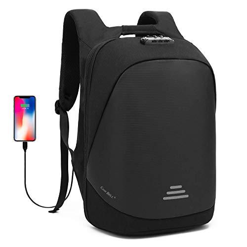 UtoteBag Anti-Diebstahl Laptoprucksack Business Travel Rucksack Reiserucksack Anti-Theft Schulrucksack Backpack Daypack mit TSA Zahlenschloss für 15,6 Zoll Laptop Notebook