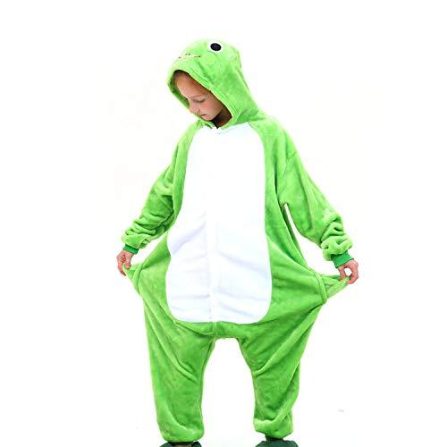 Pijama Animal Rana Niños Unisexo Disfraces Animal Carnaval Halloween Cosplay Cómodo Suave