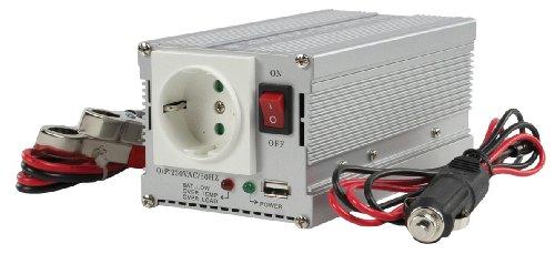 HQ Wechselrichter (300W, 12 V-230 V, USB-Port)