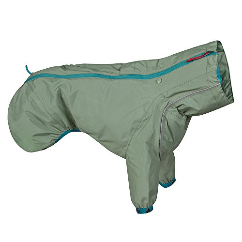 Hurtta Regenmantel für Hunde, 24 in, Hecke