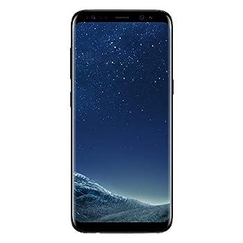 SAMSUNG Galaxy S8 - Verizon + GSM Unlocked -64GB - Midnight Black  Renewed