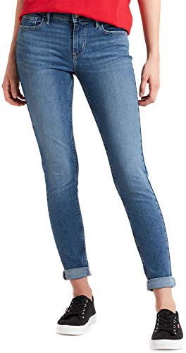 Levi´s ® Damen Jeans Innovation SUPER Skinny Hose Denim Word W25/L30