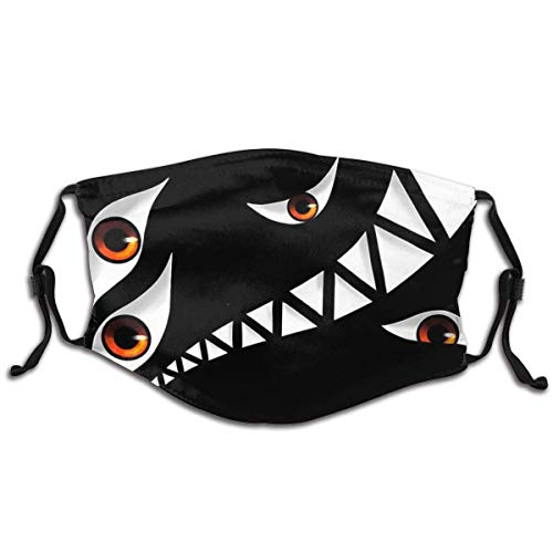 Dwarf in The Flask Mask Dustproof Unisex Face Cover Windproof Anti Dust Warm Protective Washable Balaclava Adjustable Straps Mouth Cover