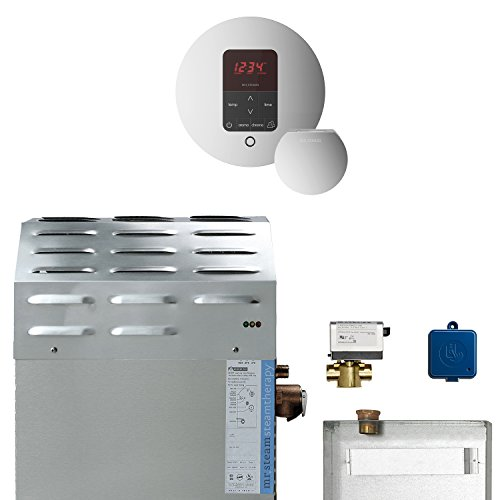 Lowest Price! 15kW Steam Bath Generator with MSButler1RD Package in Polished Chrome