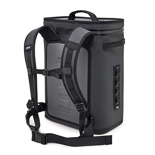 YETI Hopper Backflip 24 Soft Sided Cooler/Backpack, Charcoal