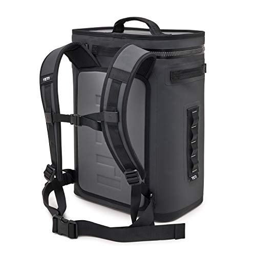 YETI Hopper Backflip 24 Soft Sided Cooler/Backpack, Charcoal
