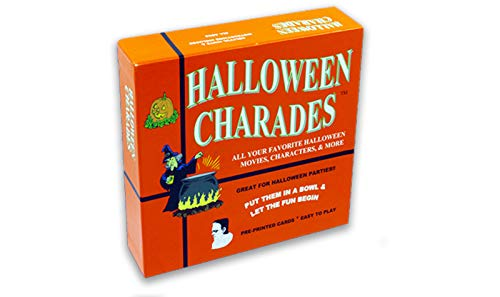 Halloween Charades - the perfect Halloween Party Game