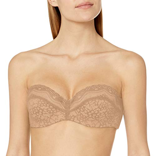 b.tempt'd by Wacoal Women's B.Enticing Strapless Bra, Blue Natural, 36C