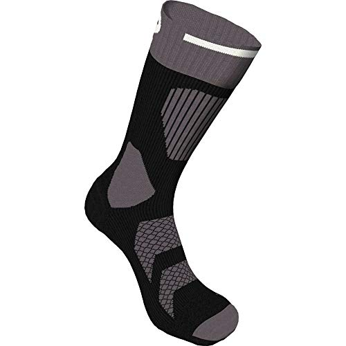 K2 Herren Tech In Line Skating Socken, Black/Dk Grey/White, 43-46