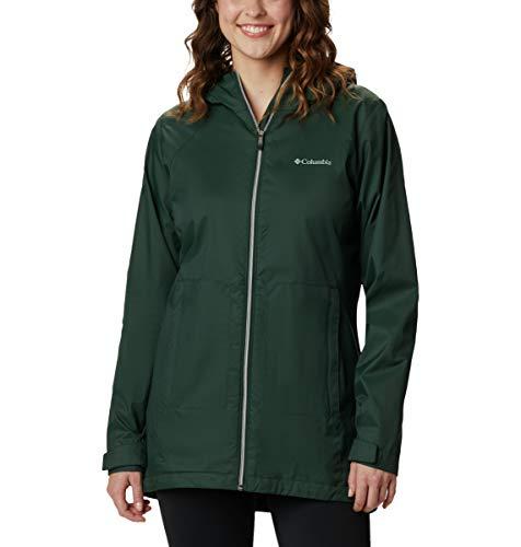 Columbia Women's Switchback Lined Long Jacket, Spruce, Medium