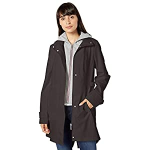 Tommy Hilfiger Women's Soft Shell with Zipout Fleece Vestie and Hood