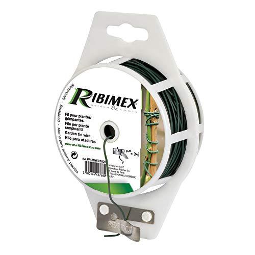Ribiland - Lien fil acier plastifié, D. 1,35 mm, long 25 m, dévidoir + découpage - PRLIENFD1325 - Ribiland