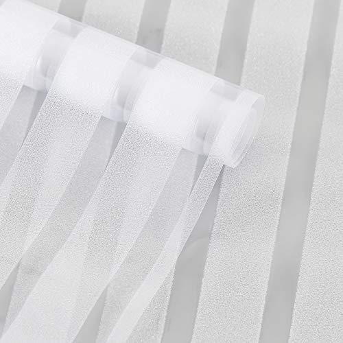 HW Vinilo para Ventana Película electrostático para Ventana Autoadhesiva Pegatinas Decorativasde privacidad contra los Rayos UV para Baño Cocina Oficina (60_x_200_cm)