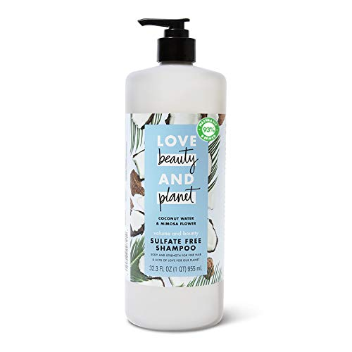Love Beauty And Planet Volume and Bounty Thickening Shampoo For Fine Hair Coconut Water & Mimosa...