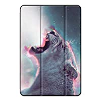 Sepikey iPad pro 9.7 2016/iPad Pro カバー,落下抵抗 三つ折りブラケット キズ防止 全面保護型 レザー 三段角度調節 プロテクターケース iPad pro 9.7 2016/iPad Pro Case-ヒョウ