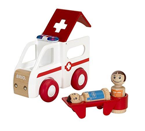 BRIO 30381 - My Home Town Krankenwagen mit Licht und Sound