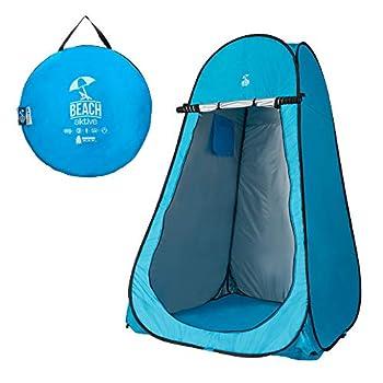 Aktive 62163 Tente de Bain à Langer (Coloris Bleu Turquoise - 120 x 120 x 190 cm)