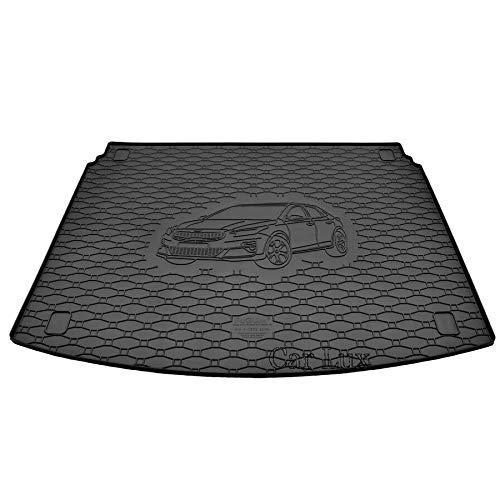 Car Lux AR06061 - Alfombra protector de goma para maletero para Kia X-Ceed Xceed X Ceed desde 2019-