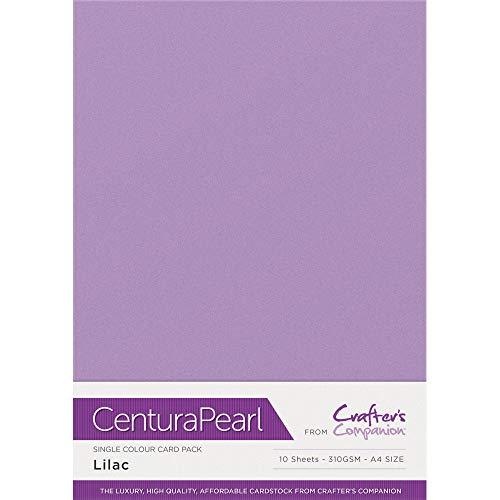 Centura Pearl Einfarbige 10 Bogenpacken, cardstock, Lilac, 34.4 x 22.5 x 0.5 cm