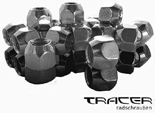 10 x Radschraube m12 x 1,5 x 24 mm Cono federale 60 ° sw17 bulloni della ruota bullone cono