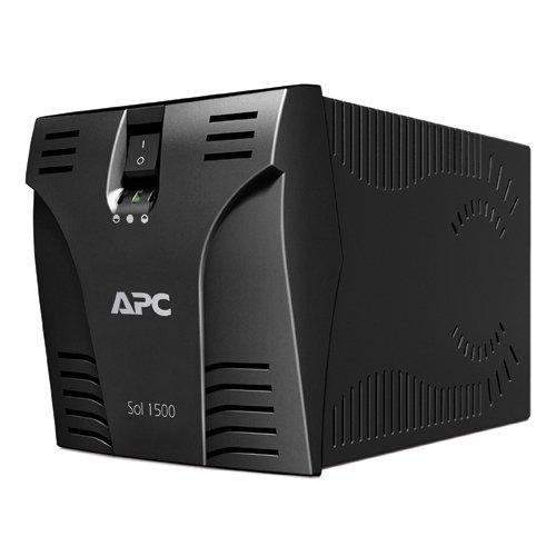 Estabilizador Microsol, APC SOL1500BI, Preto