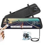 YDI Cámara de Coche FHD 1080P Espejo Retrovisor Dash Cam 10 Pulgadas...
