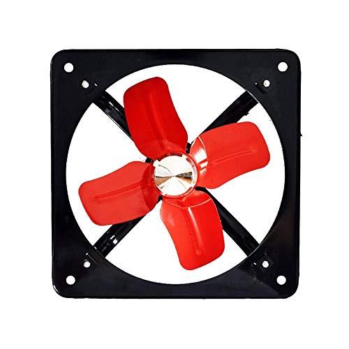 RJSODWL Extractor de ventilación Industrial Potente, Extractor axial de Metal, Ventilador Comercial para Cocina, Dormitorio