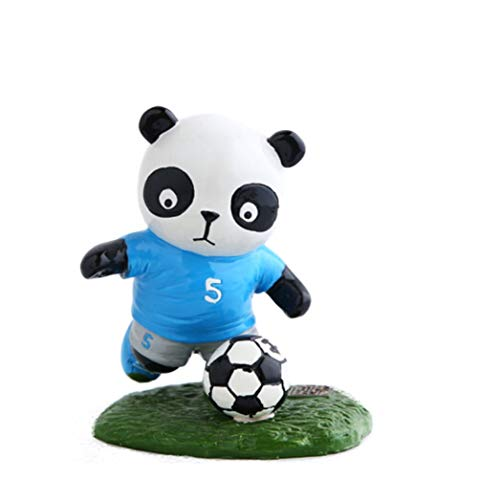 ZYLE Featured World Cup Resin Handmade Crafts Birthday Gift Cute Cartoon Doll Decoration Souvenir Living Room Bedroom Car Personality Ornamentation Garden Decoration (Style : All(8))
