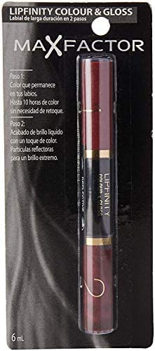 Max Factor Lipfinity Color & Gloss, No. 510 Radiant Rose, 2 Count