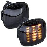phil trade LED SEITENBLINKER schwarz kompatibel für A3 8L, A4 B5, A8 D2   Ibiza 6K [7317-1]