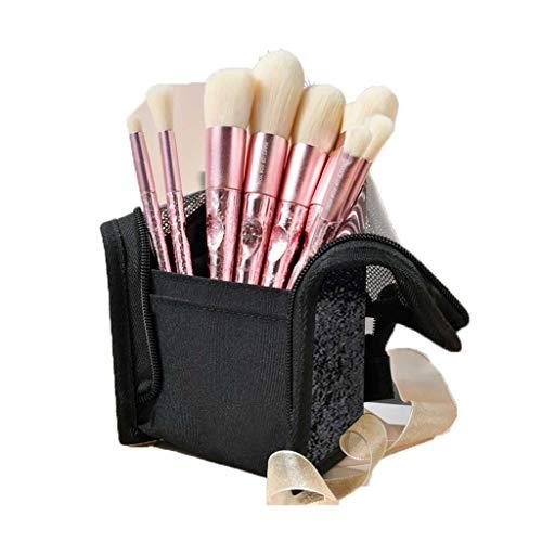 Pinceau de maquillage GCX Set Eye Shadow Pinceau Pinceau Blush débutant Ensemble Complet d'outils de beauté à séchage Rapide Brosse à Sourcils Pinceau à lèvres 10 Brosse Beau