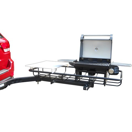 """Stowaway Hitch Mount Grill 