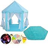 ZHHZ Tienda Infantil Interior, Tienda Deluxe Princess Children Play Castle, Casa de Juegos Interior y Exterior para jardín, para Fairy Princess Castle Tienda |Regalo de cumpleaños 140x120x135cm-
