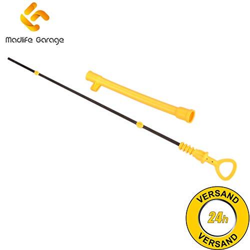 Madlife Garage 06B115611R Ölmessstab Ölpeilstab Öl Stab Trichter 4 A6 Superb I 3U4 Passat 3B2 3B3