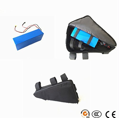 Best Review Of NBpower 1500W Motor 48V 13Ah Samsung Cell 22p Electric Bike Triangle Bag Lithium Batt...