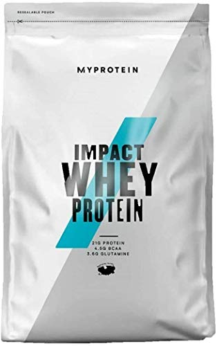 Myprotein Impact Whey Protein Powder. Muscle Building Supplements for Everyday Workout with Essential Amino Acid and Glutamine. Vegetarian, Low Fat and Carb Content - Chocolate Brownie, 1kg