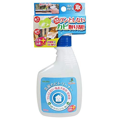 アズマ カビ取り洗剤 乳酸カビトリーナー洗浄効果プラス 正味量400ml 塩素不使用 安心成分で家中使える