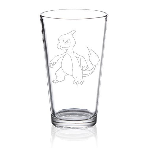 Charmeleon - Etched Pint Glass