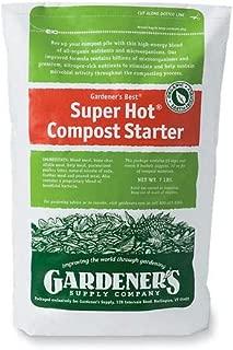 Gardener's Supply Company Compost Starter Super Hot, 7-Pound. Resealable Bag
