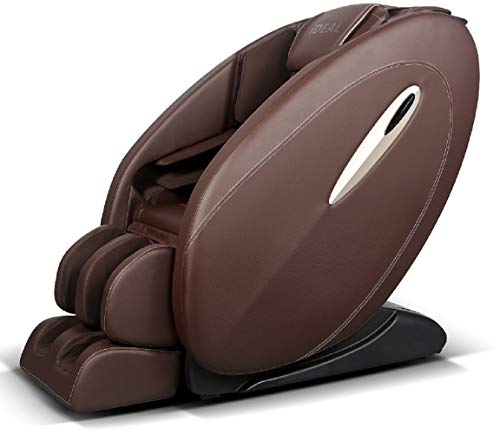 Ideal Massage Full Featured Shiatsu Chair with Built in Heat Zero Gravity Positioning Deep Tissue Massage