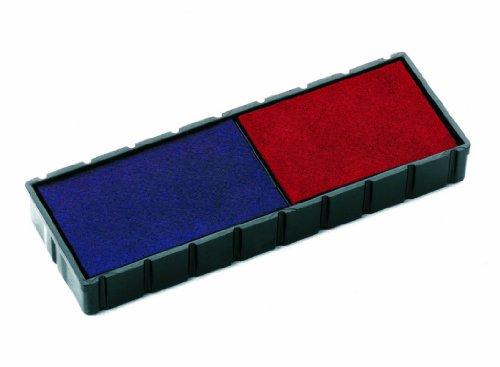 Colop 3101162302 Ersatzkissen für S 120/WD, Inh.2, rot/blau