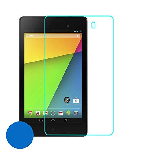 tran tempered edge to edge with 9h hardness screen protector for google nexus 7 tablet (pack of 1) (transparent)
