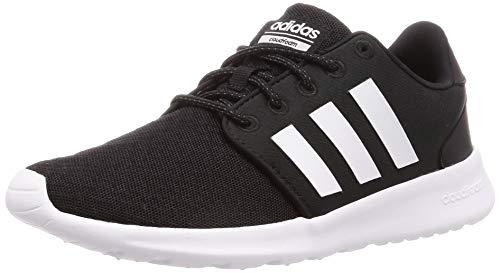 adidas Qt Racer, Zapatillas para Mujer, Negro (Core Black/Footwear White/Carbon 0), 36 EU