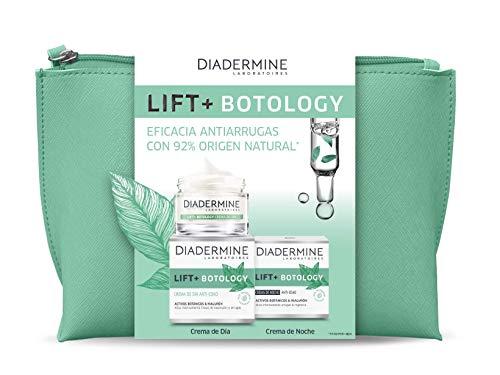 Diadermine - Neceser Lift+ Botology - Crema de Día Lift+ Botology 50 Mililitros + Crema de Noche Lift+ Botology 50 Mililitros - Reduce Arrugas en 4 Semanas 100 G